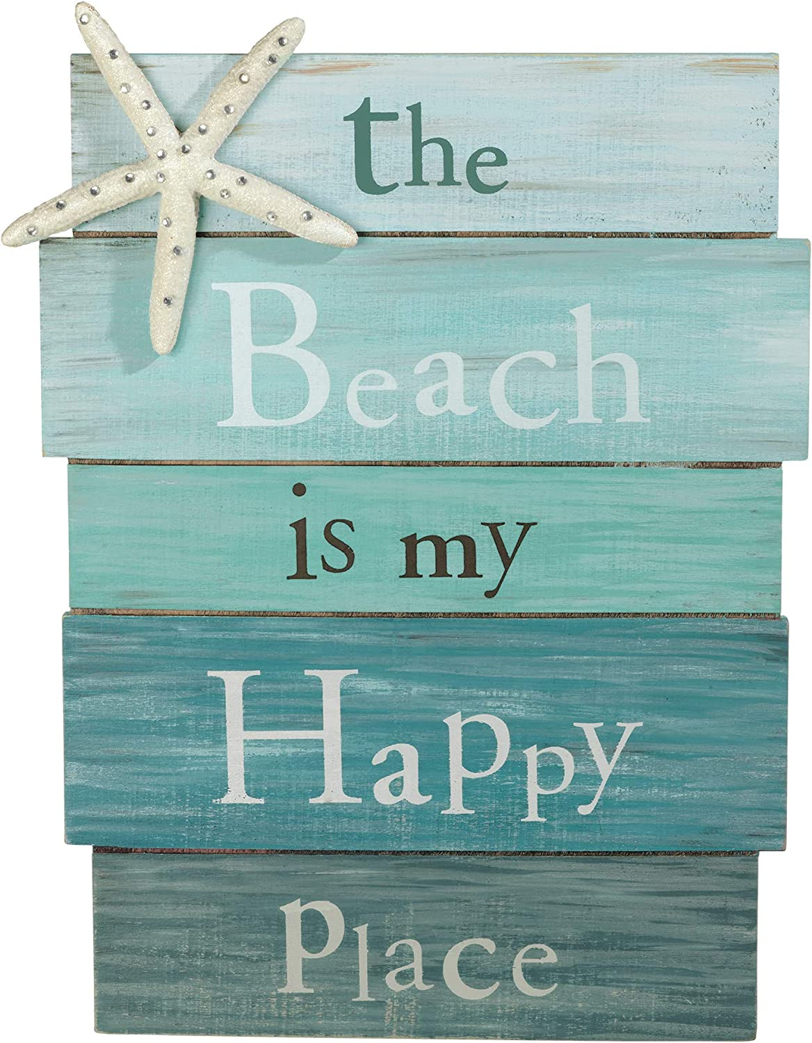 The Beach is My Happy Place Plaque