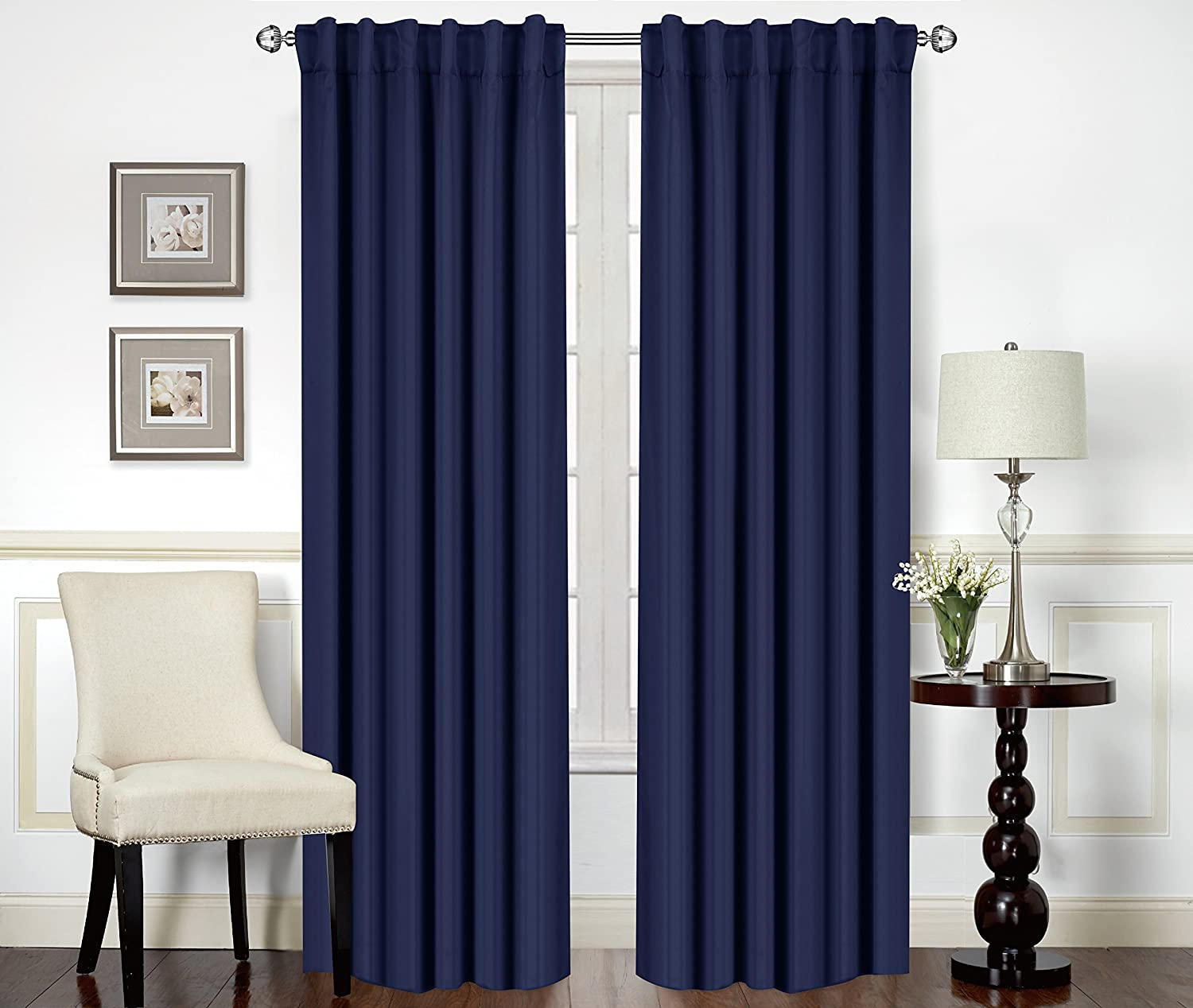 room blackout curtains target amazoncom utopia bedding blackout room darkening and thermal insulating window curtainspanelsdrapes panels set back loops per panel tie