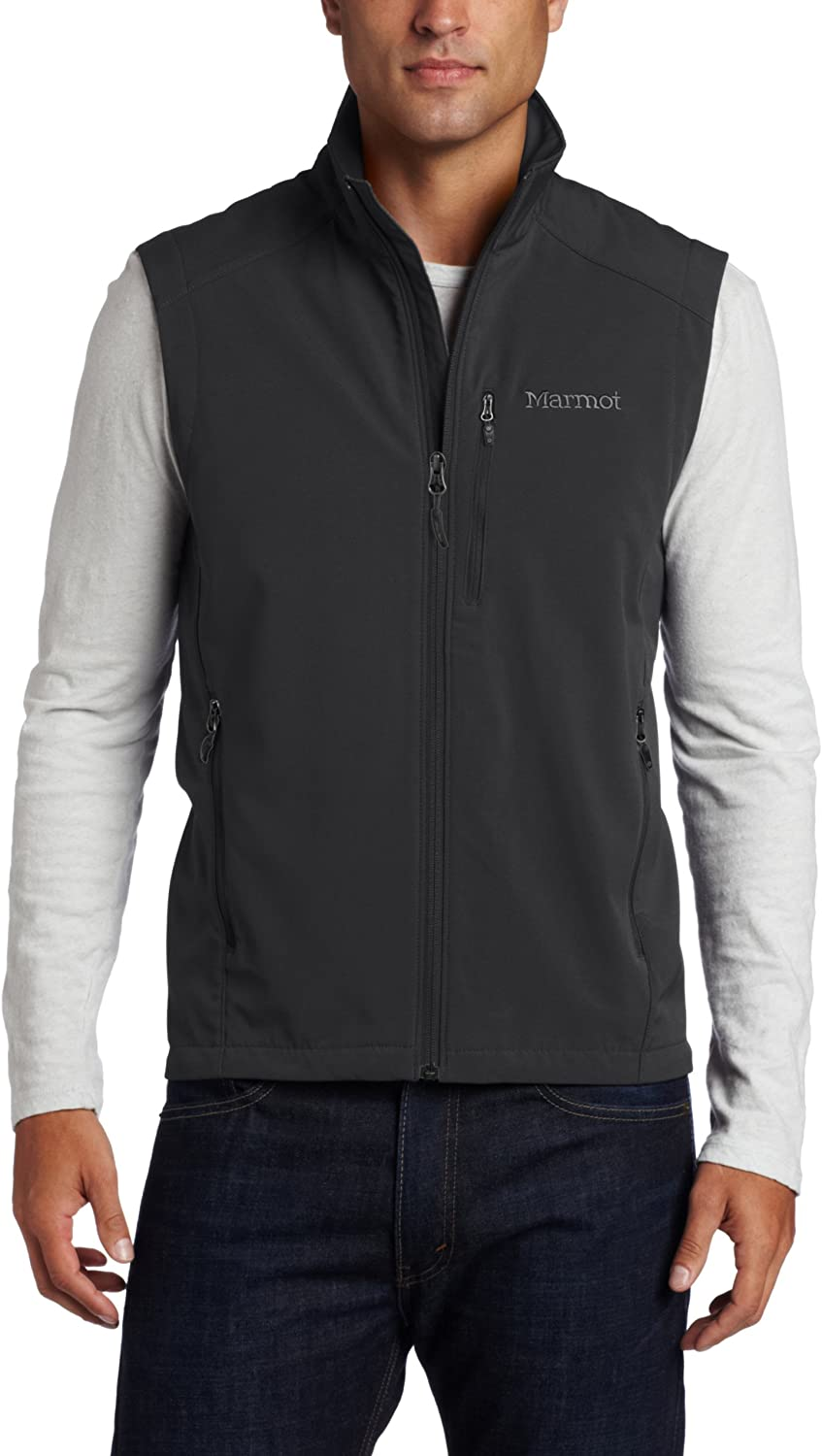 Marmot Men's Approach Vest, Black, Large: Clothing