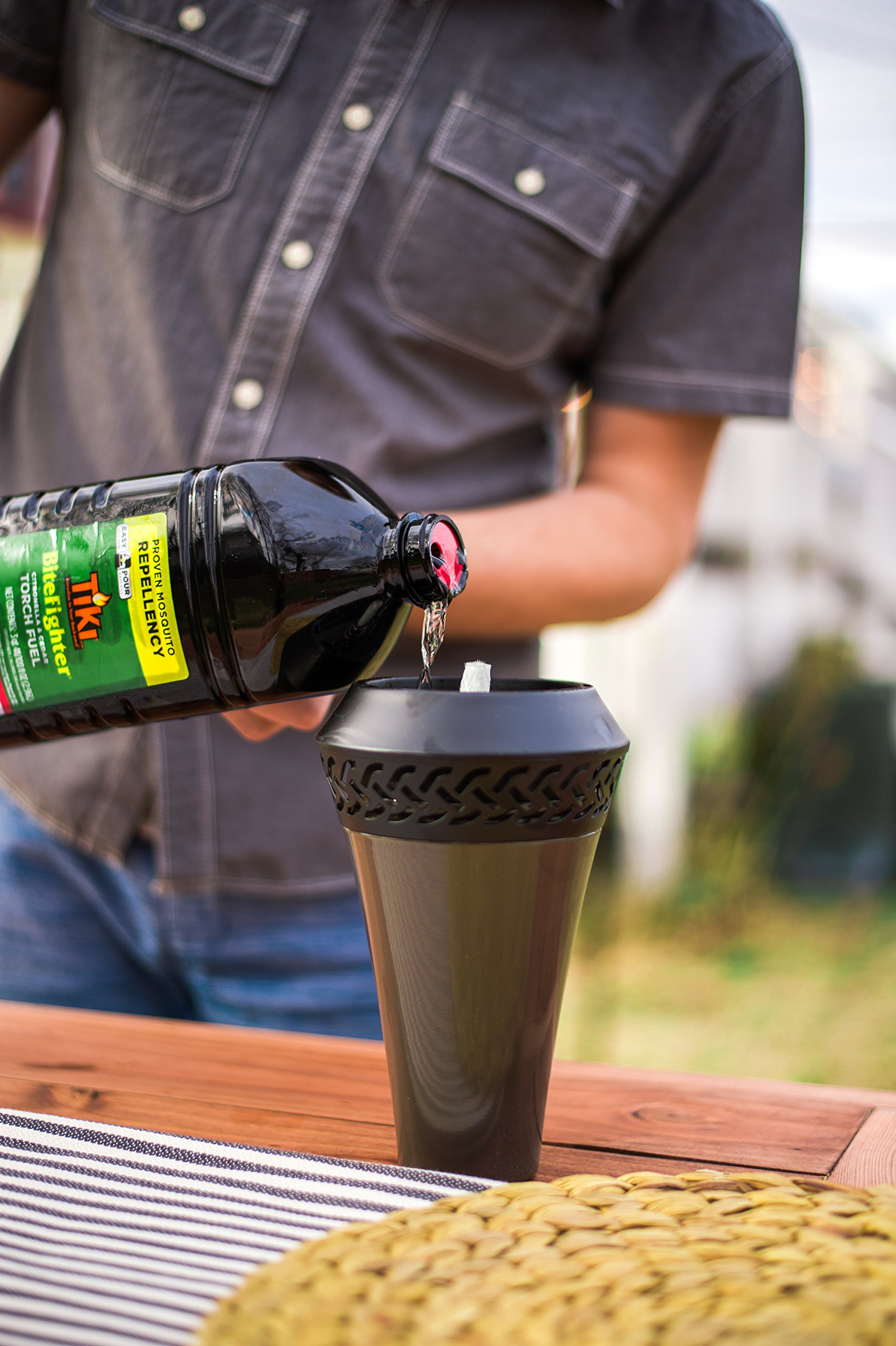 Tiki Brand Bitefighter Torch Fuel, 100 Ounces by Tiki (Image #4)