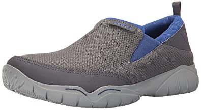 b0953a02967e Crocs Men s Swiftwater Mesh Moc M Slip-On Loafer