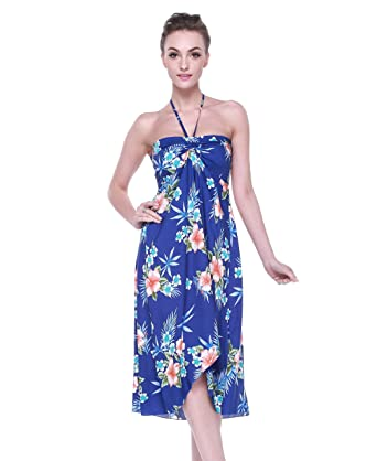 e7d4db64658 Hawaii Hangover Women s Hawaiian Butterfly Dress at Amazon Women s ...