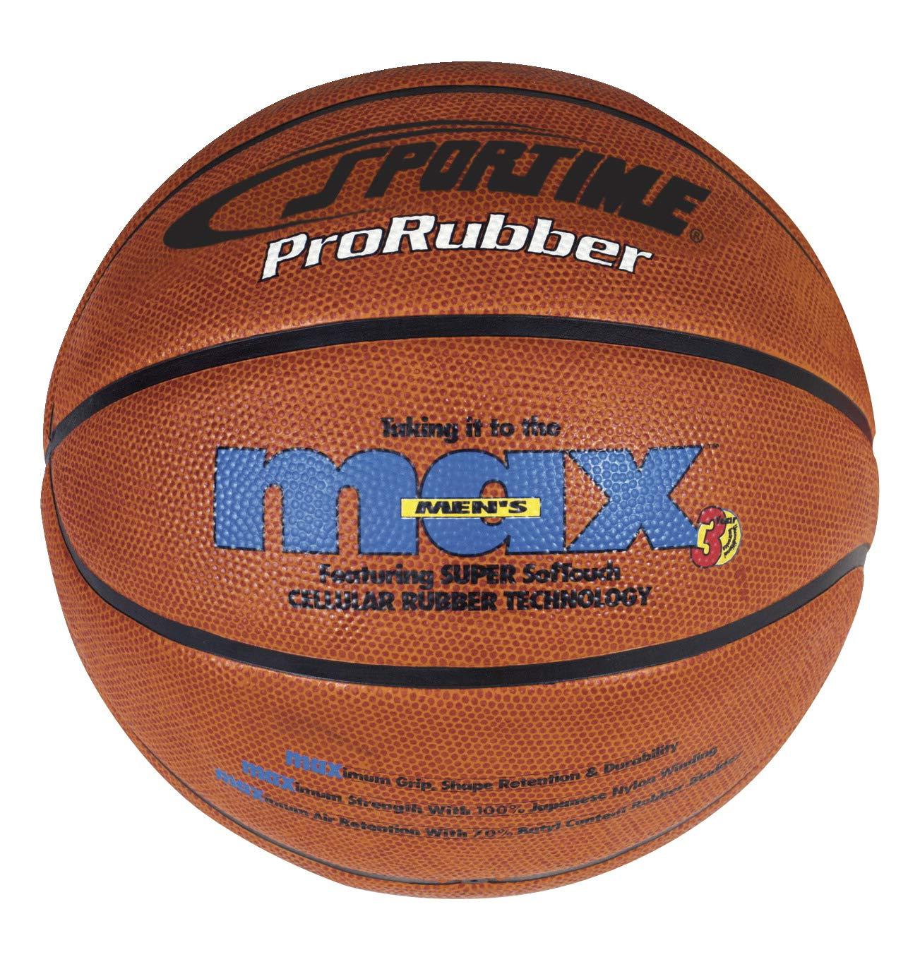 SportimeMax ProRubber Basketball Junior - 27 1/2 inch