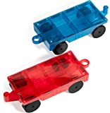 NEW Mag Builders 2 Piece Car Set - Magnetic Truck Car Train - Magnet Building Tile Magnetic Blocks - Creativity Beyond Imagination! Educational, Inspirational, Conventional,& Recreational!