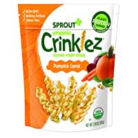 Deals on Sprout Organic Crinklez Toddler Snacks 1.48 Ounce Bag