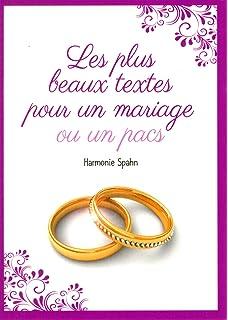 petit livre de les plus beaux textes pour un mariage - Ecrire Ses Voeux Mariage