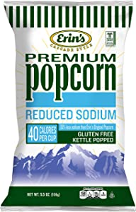 Erin's Popcorn, Reduced Sodium, 10 Count