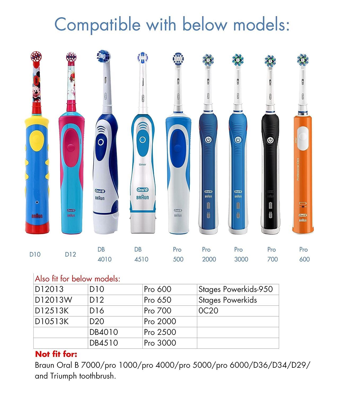 Eléctrico cepillos de dientes estuche de viaje oral care Box para Braun Oral -B D10 Pro 600 700 2000 3000 Cepillo de Dientes NO Están Incluidos en el ...
