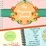 PREGNANCY JOURNAL + STICKERS - Unconditional Rosie Pregnancy Book With 12 Milestone Stickers Included