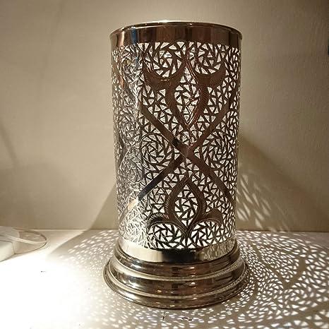 Pie Maroc latón plateado | Diseño Oriental. de Marruecos ...