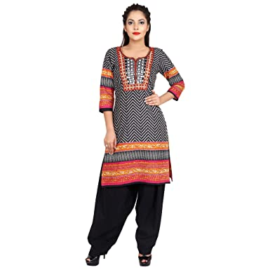 Amazon Com Indian Women S Dress Bollywood Ethnic Kurti Punjabi