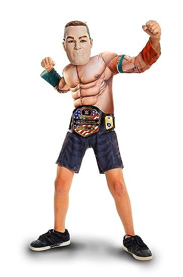 WWE Disfraz de John Cena  Amazon.es  Juguetes y juegos c51b59c6f6c