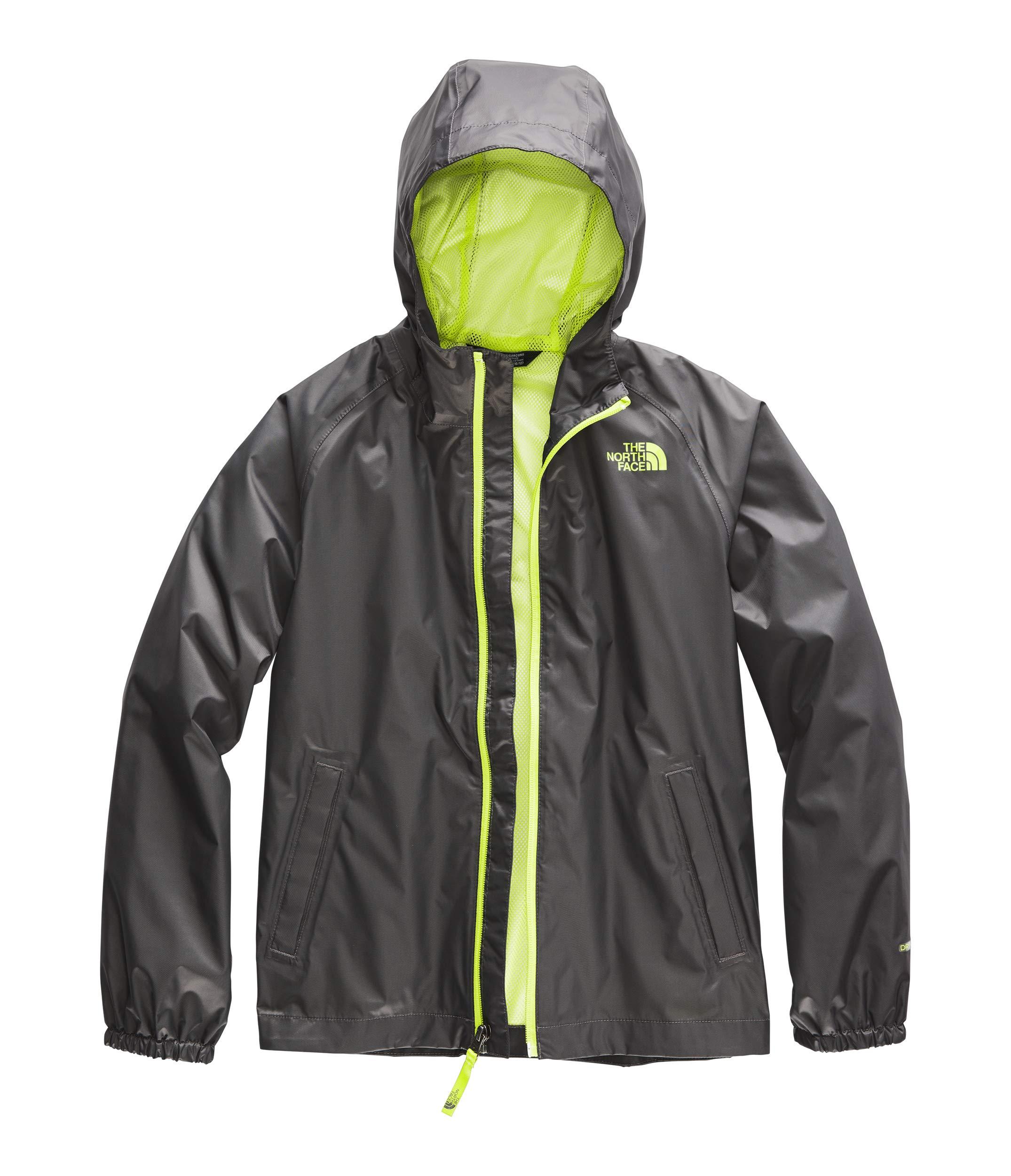 The North Face Kids Boy's Zipline Rain Jacket (Little Kids/Big Kids) Graphite Grey Medium