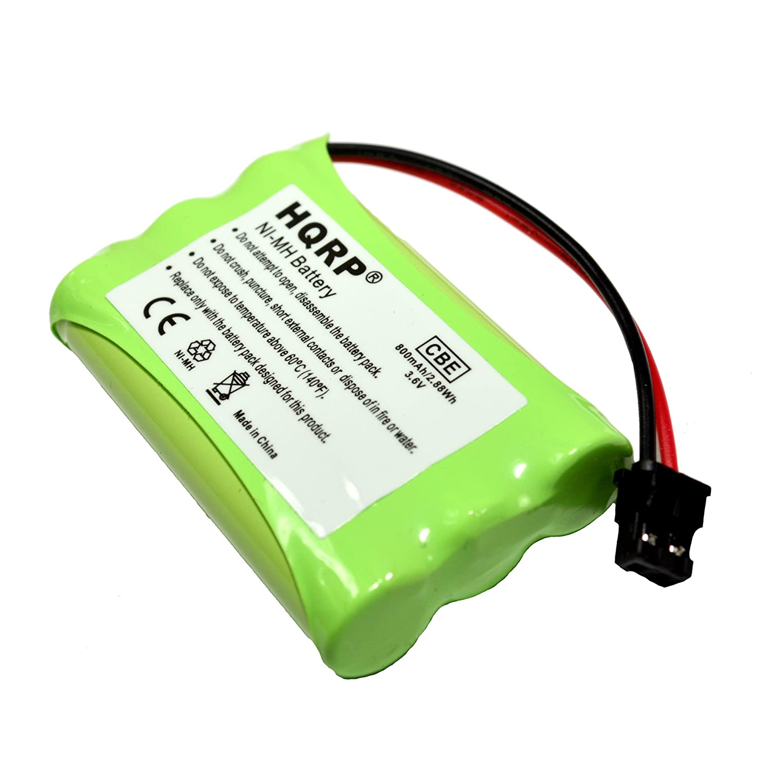 Amazon.com: HQRP Cordless Phone Battery compatible with Uniden PowerMax  5.8GHz 30878864022, Powermax 2.4 GHz, GE TL26402, GP 80AAALH3BMX, ...