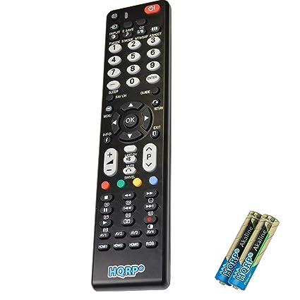 amazon com hqrp remote control for hitachi 55hds69 55hdt51 55hdt52 rh amazon com User Guide Template Example User Guide