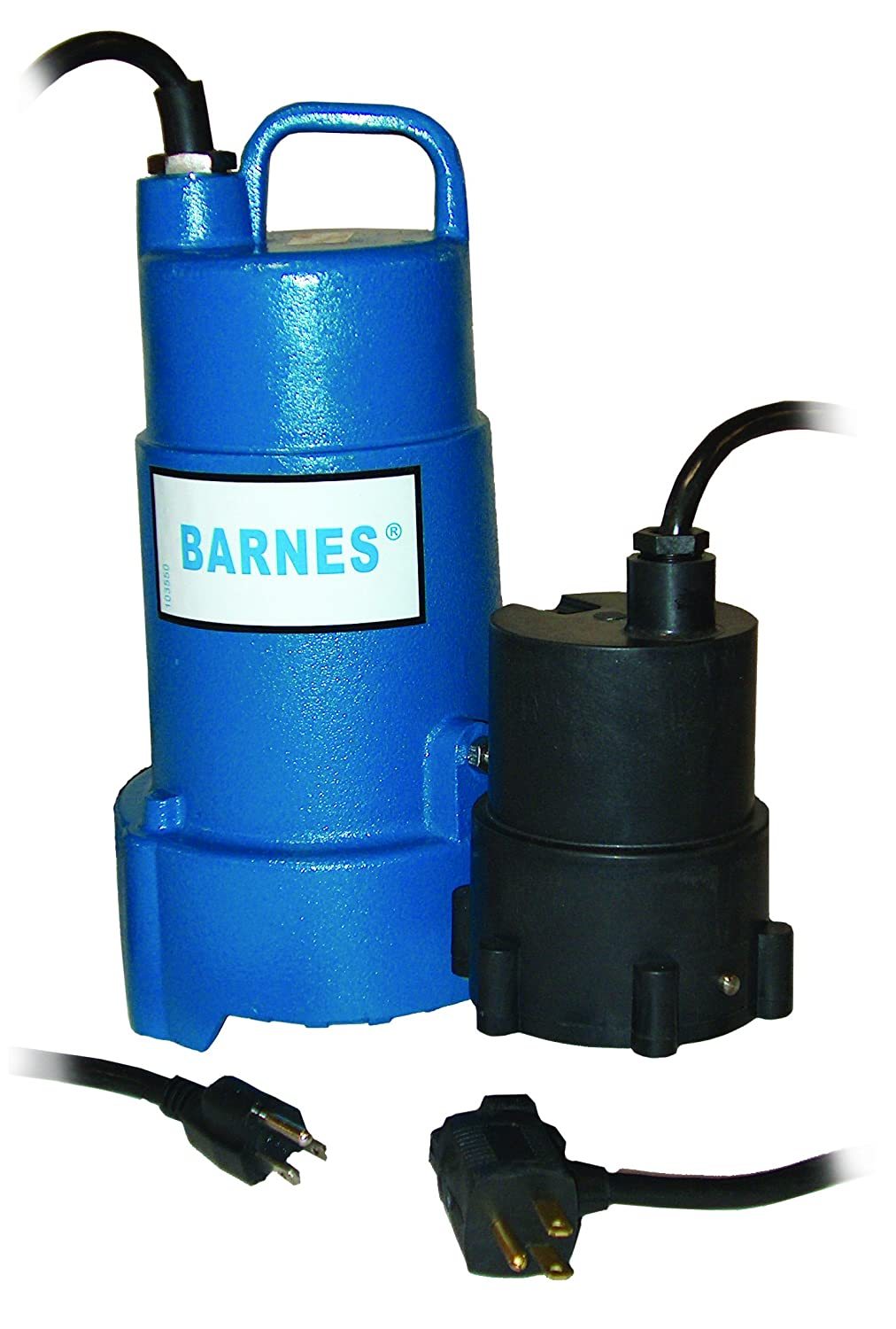 Barnes 112875 Model Sp50x Sump Pump 1 2 Hp 120v Hydraulic Wiring Diagram For Phase 3450 Rpm Npt Discharge Manual 20 Cord Industrial Scientific