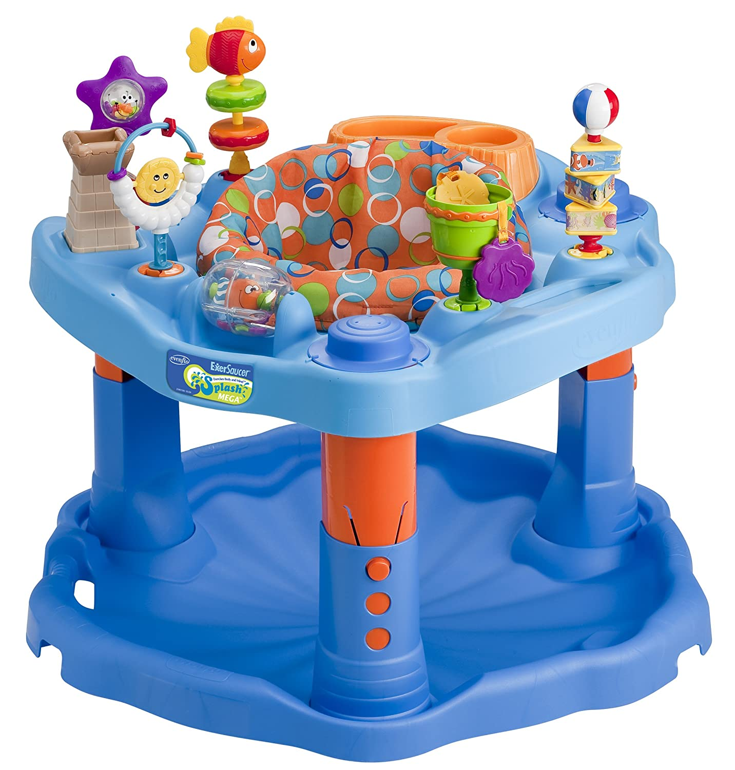d24ce323c Amazon.com   Evenflo Splash Mega Exersaucer (Discontinued by ...