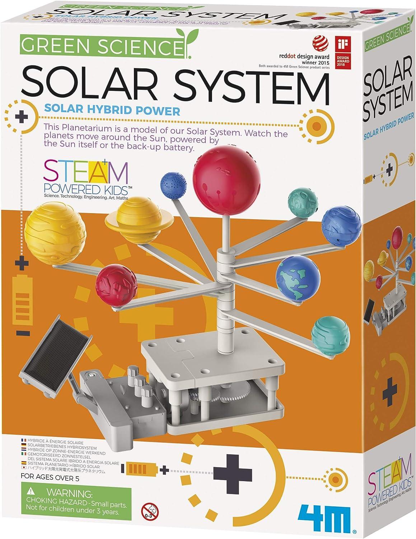 World of science 6 en 1 Kit d/'alimentation solaire