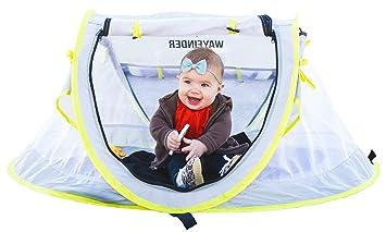 WAYFINDER USA TravelTot Baby Travel Tent Portable Baby Travel Bed Indoor u0026 Outdoor Travel Crib  sc 1 st  Amazon.com & Amazon.com : WAYFINDER USA TravelTot Baby Travel Tent Portable ...