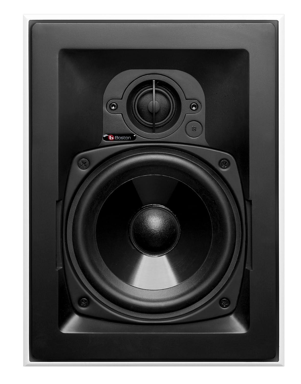 Boston Acoustics HSI455-0XX00 5.25-Inch 2-Way In-Wall LCR Speaker HSi 455