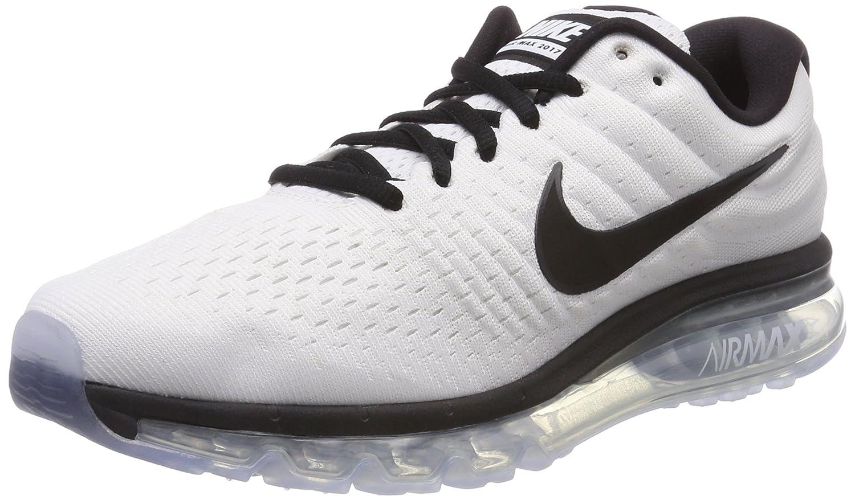Bianco (bianca nero 105) Nike Air Max 2017, Sautope da Ginnastica Uomo