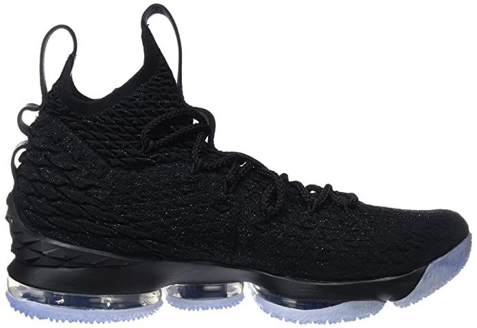 watch 1193c b4b67 ... store amazon nike mens lebron 15 basketball shoes black black metallic  gold 897648 006 size 10.5