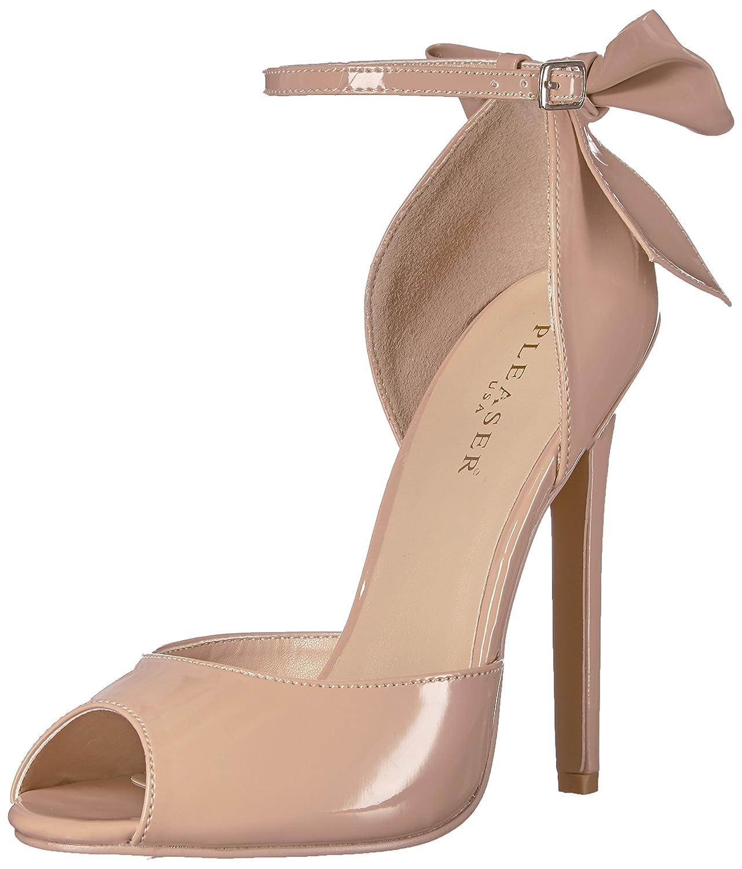Pleaser Sexy-16 High Heels Fetisch Riemchen Sandaletten Lack Schwarz 35-45 Übergrösse