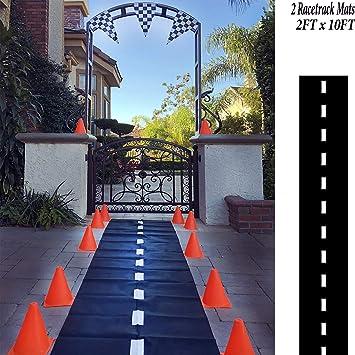 Party Banner Adorox - Pista de carreras para el suelo, decoración ...