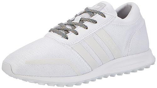 Adidas Los Angeles, Zapatilla de Deporte Baja del Cuello para Hombre, Blanco FTWR White/LGH Solid Grey, 48 EU: Amazon.es: Zapatos y complementos