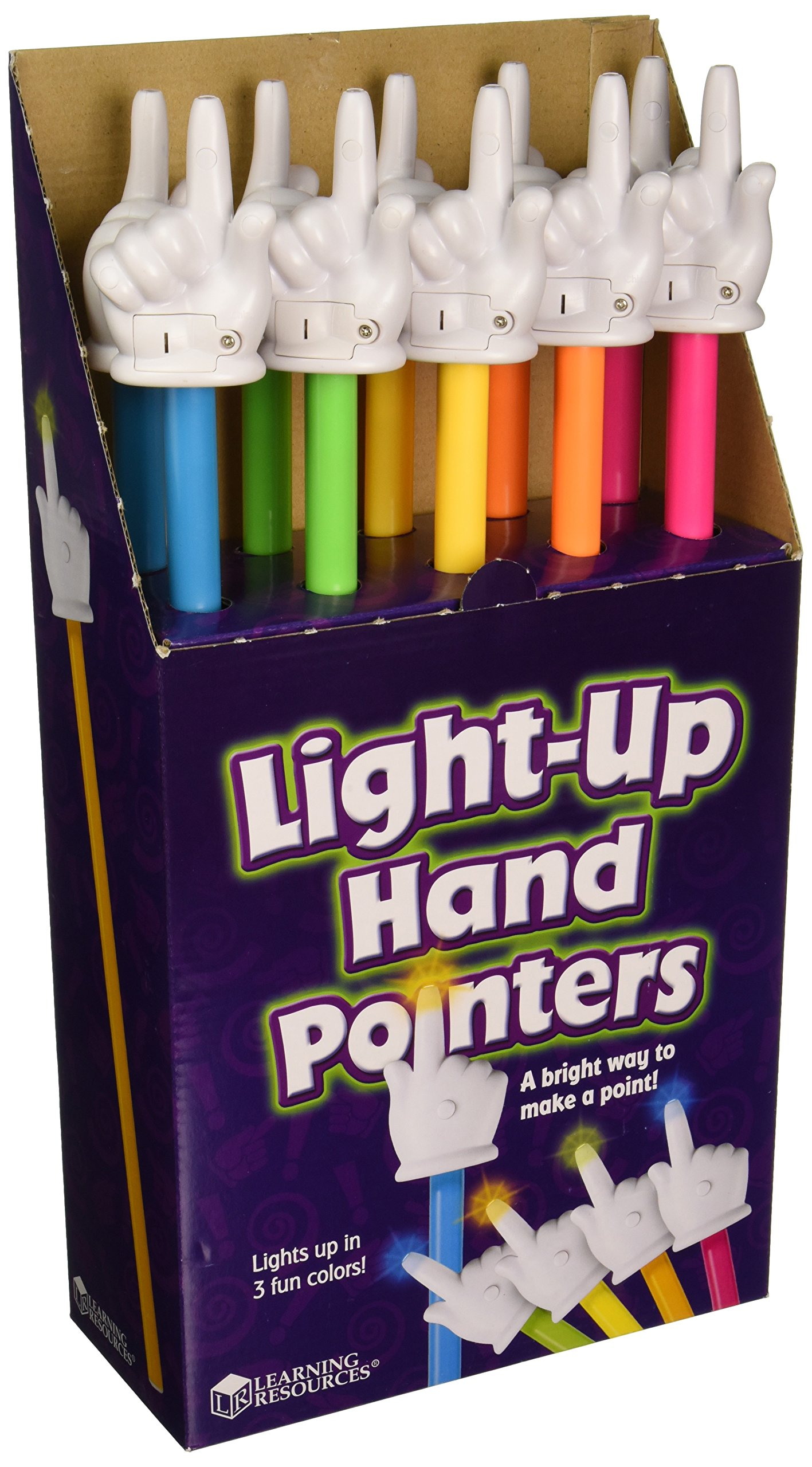 Learning Resources Light Up Pointer, Set of 10