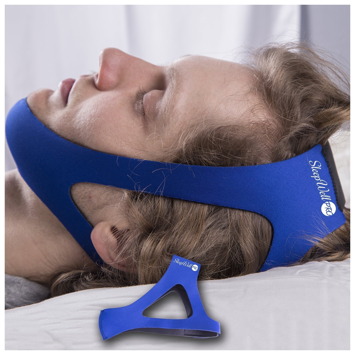 Easy Pro Adjustable Stop Snoring Chin Strap