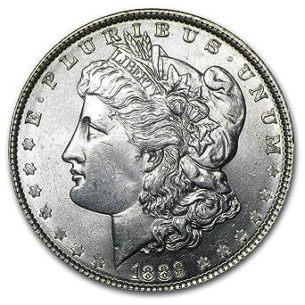 1889 Morgan Silver Dollar Brilliant Uncirculated BU