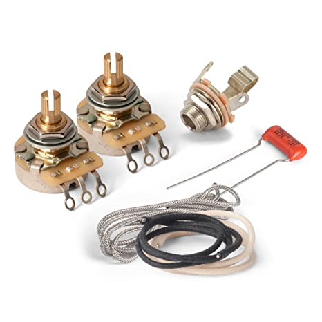 amazon com: golden age premium wiring kit for gibson lp junior or sg junior:  musical instruments