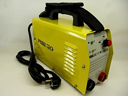 Sportsshop 4260206584353 Prime Tech IGBT200 Elektrode - Inversor de máquina soldadora (MMA, 200 A