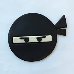 Ninja Face 100 Cookie Cutter Set (3 inches)