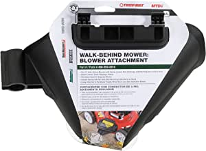 Atlas 490-850-N016 Walk Behind Mower Blower Attachment (2009 and After), 21-Inch, Black
