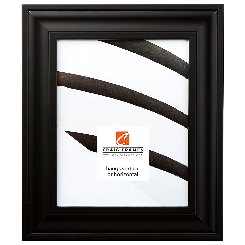 (クレイグフレーム) Craig Frames フォト/ポスターフレーム 滑らか仕上げ 幅2インチ さまざまな色 16x22 ブラック 762731622AC B004L6BNRI 16x22|サテンブラック サテンブラック 16x22