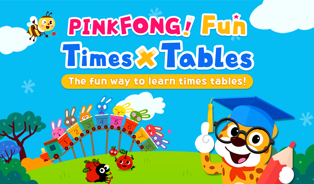 PINKFONG! Fun Times Tables: Toddler Math, Songs, Counting