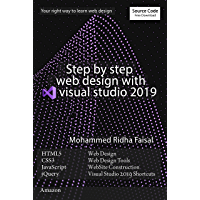 Step by step web design with visual studio 2019