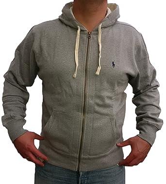 Ralph Lauren - Veste Homme Capuche Polaire  Amazon.fr  Vêtements et  accessoires e8a21671710