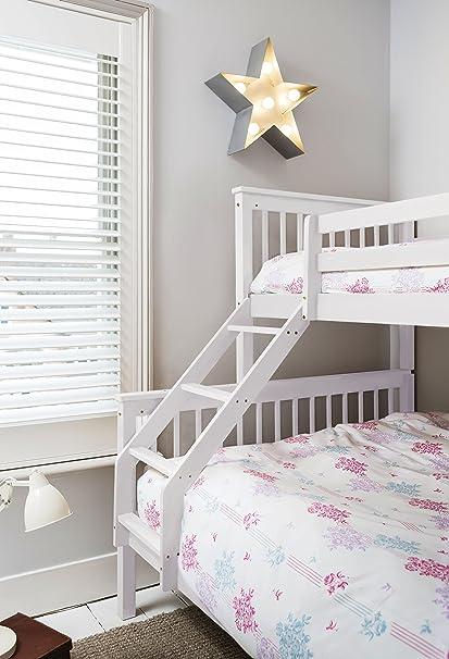 Triple cama en color blanco, Hanna, cama litera para niños de Noa ...