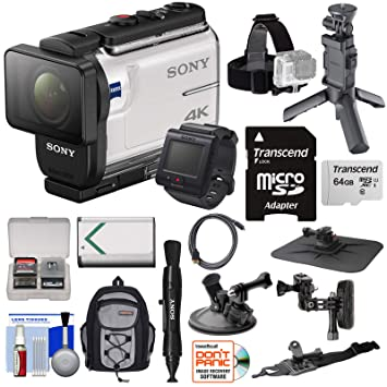 Amazon.com: Sony Action Cam fdr-x3000r WiFi GPS 4 K HD ...