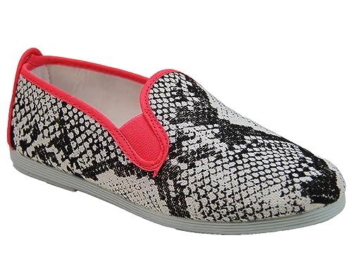 Flossy - Mocasines de Tela para Mujer * Auditor Value, Color, Talla 3 UK: Amazon.es: Zapatos y complementos