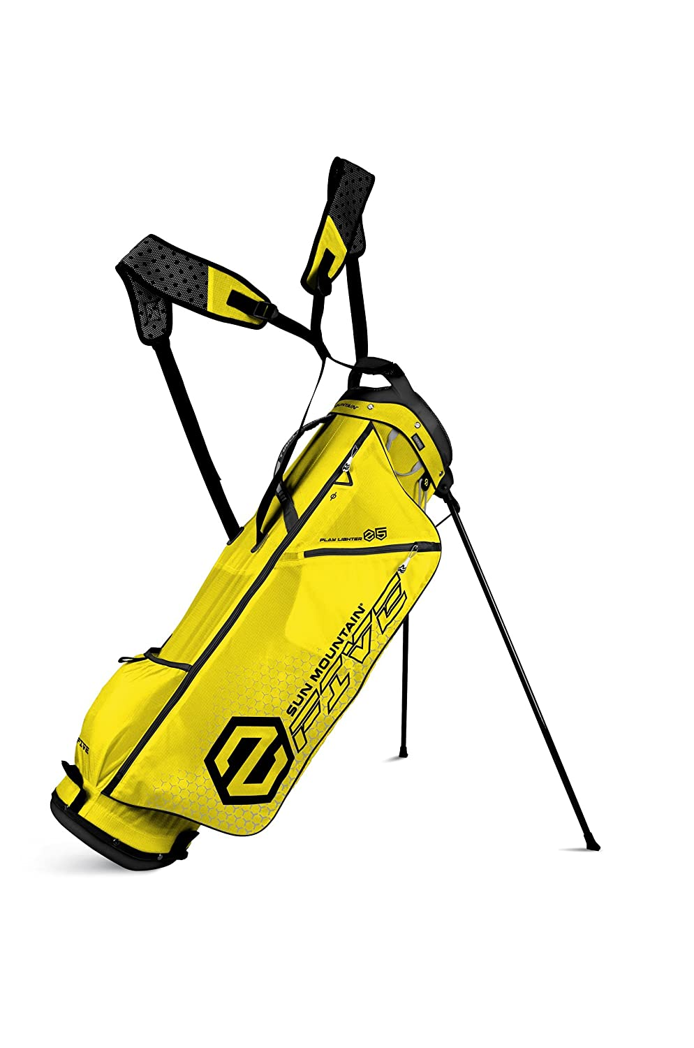 Sun Mountain 2 Five Bolsa para Palos de Golf, Lemon y Negro ...
