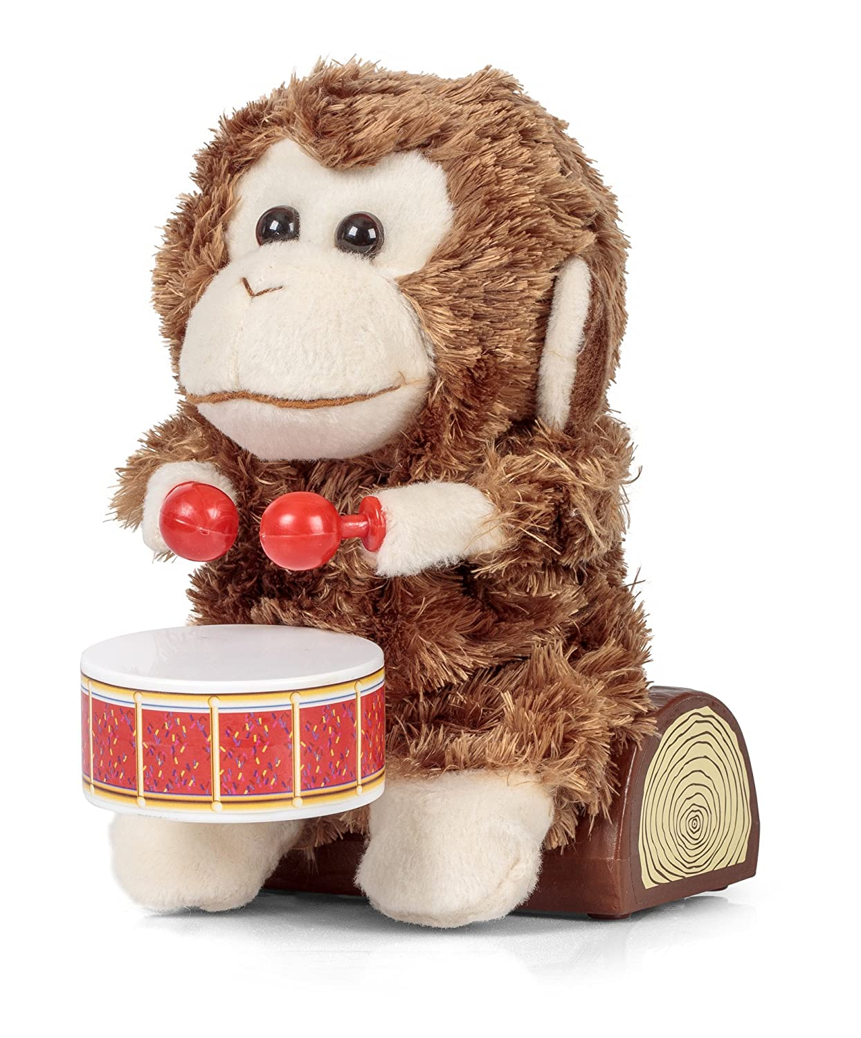 The Amazing Drumming Monkey Amazon Toys Games