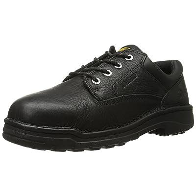 Wolverine Men's Exert NONSTL DURA SR OXF-M, Black, 8.5 M US: Shoes