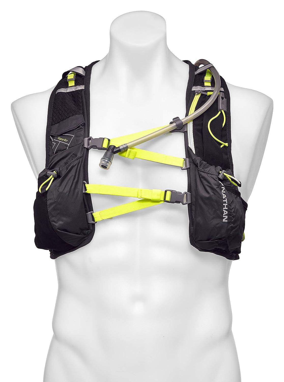 Nathan VaporAir Hydration Pack Running Vest w/2L Hydration Bladder Reservoir, Men's Men' s Shock Doctor-Drop Ship 4532NEBYS-P