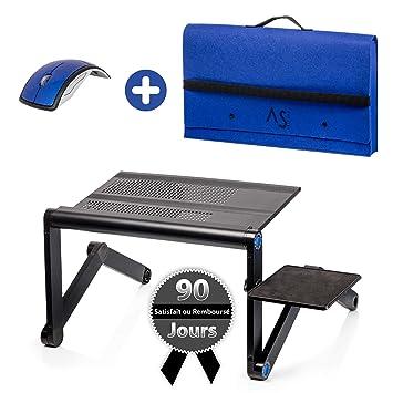 Ergonomique Housse De PortablePlateau Une Gamme Avec Souris PliableSupport Et Anspros Haut Lit Table LecturePack Ordinateur Pour nwX0kP8O