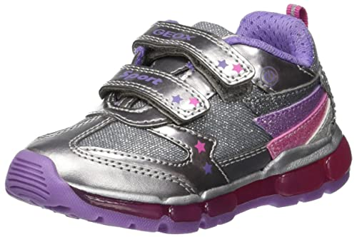 Geox J Android Girl B Low-Top Sneakers  Amazon.co.uk  Shoes   Bags fe3d665067f
