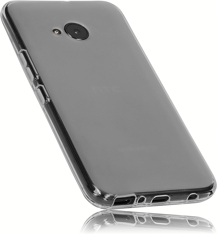 mumbi Funda Compatible con HTC U11 Life Caja del teléfono móvil, Blanco Transparente: Amazon.es: Electrónica